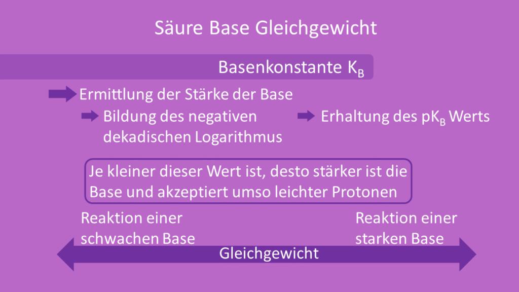 Säure Base Gleichgewicht, Säure-Base-Gleichgewicht