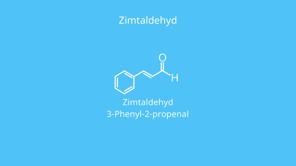 Aldehyd, Zimtaldehyd