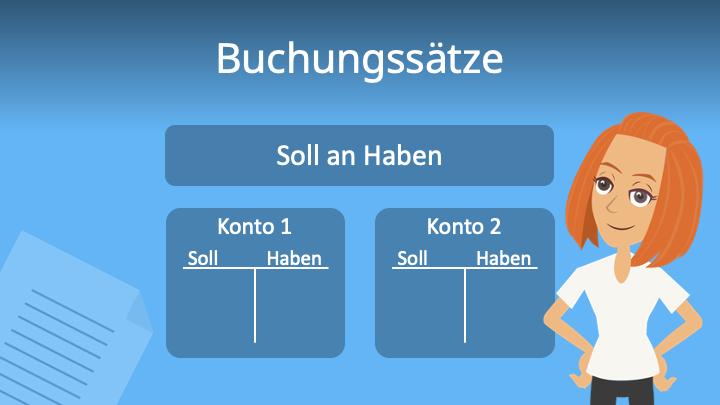 Buchungssätze, Buchungen, Buchungssatz