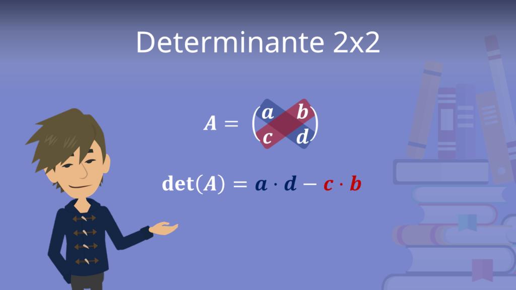 Zum Video: Determinante 2x2