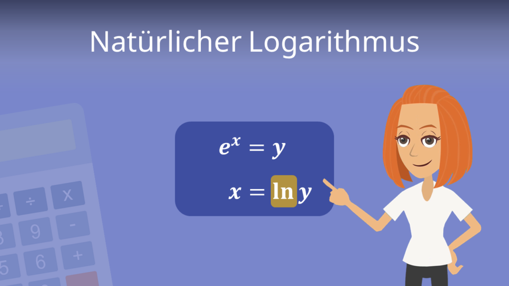 Natürlicher Logarithmus, Logarithmus naturalis, Logarithmus, Natürlicher Logarithmus Regeln, ln Regeln, ln,