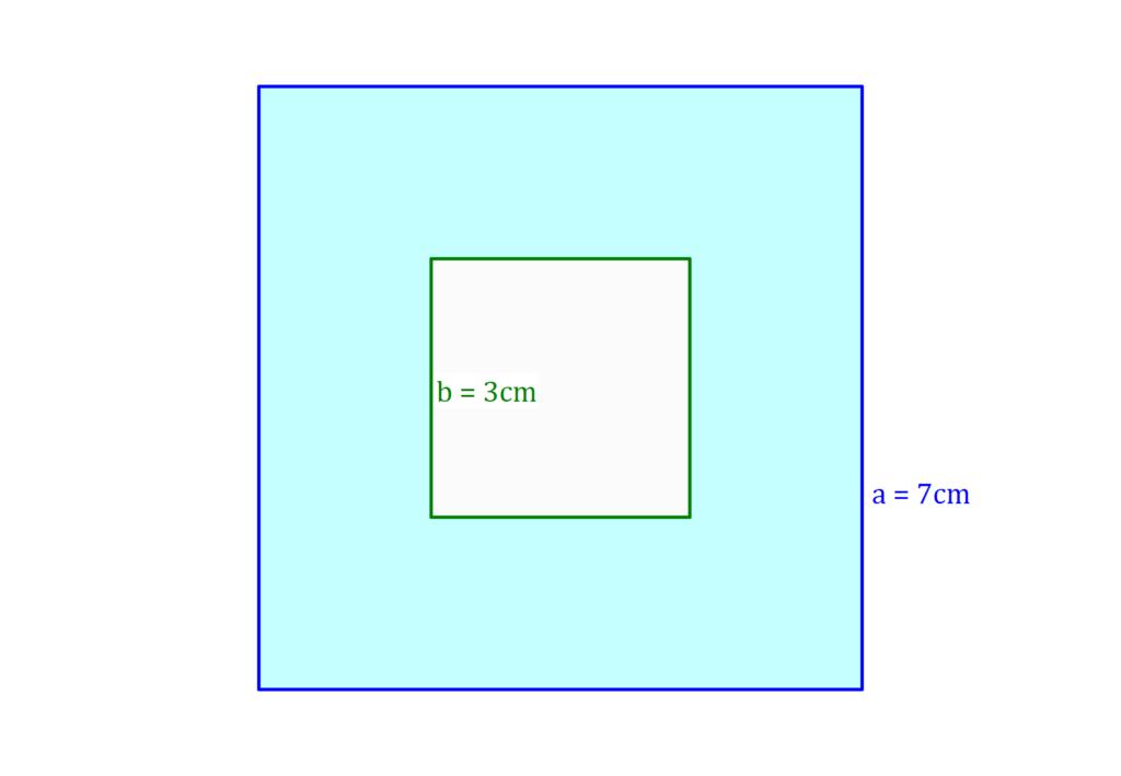 Flächeninhalt Quadrat, Quadrat Flächeninhalt, Fläche Quadrat