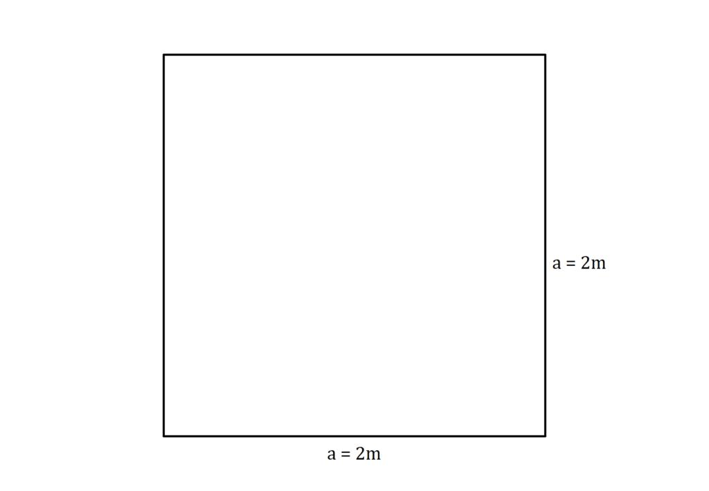Umfang Quadrat, Quadrat Umfang