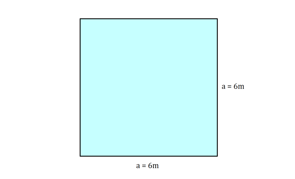 Flächeninhalt Quadrat, Flächeninhalt Quadrat Aufgabe