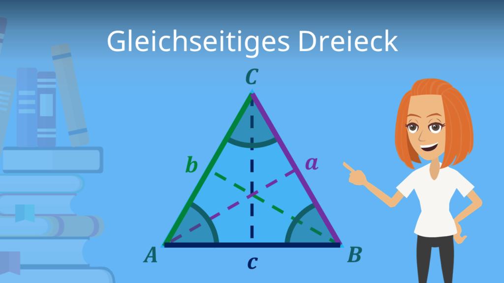 Gleichseitiges Dreieck, Gleichseitiges Dreieck Formeln, Gleichseitiges Dreieck berechnen