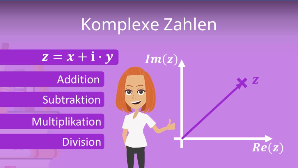Zum Video: Komplexe Zahlen