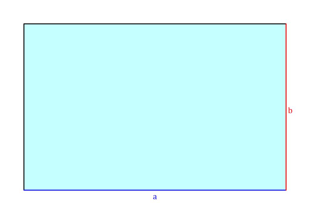 Flächeninhalt Rechteck, Rechteck Flächeninhalt, Fläche Rechteck