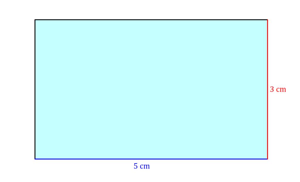 Rechteck, Flächeninhalt Rechteck