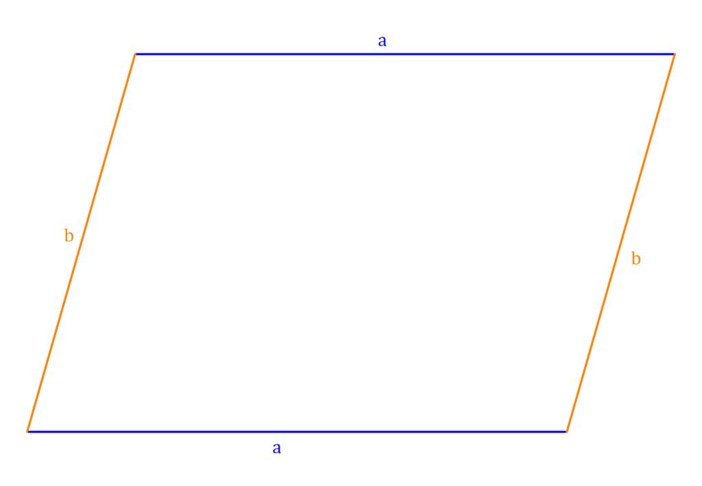 Umfang Parallelogramm, Parallelogramm Umfang