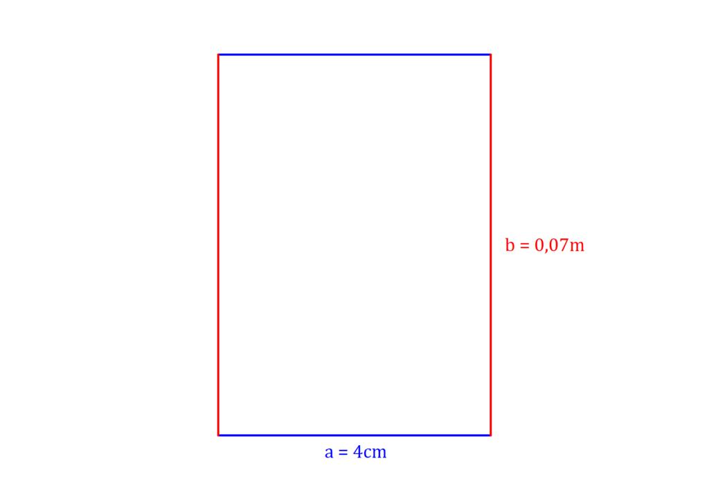 Umfang Rechteck, Rechteck Umfang, Rechteck Umfang Beispiel, Rechteck