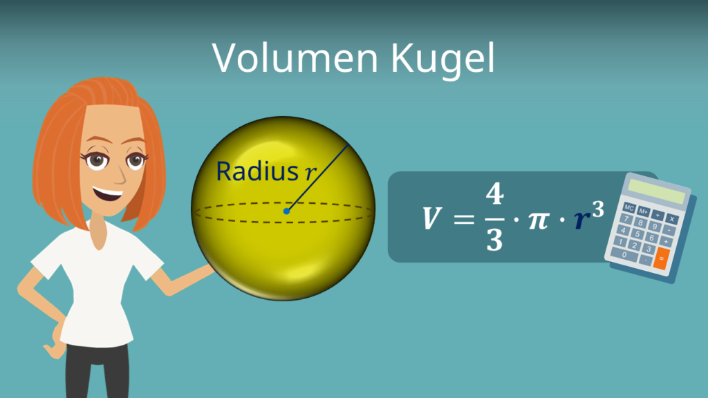 Volumen Kugel, Kugel volumen Formel, Volumen Kugel berechnen