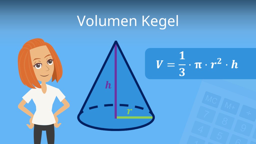 Volumen Kegel, Volumen Kegel berechnen, volumen Kegel Formel