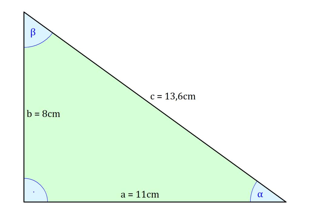 Winkel berechnen rechtwinkliges Dreieck, rechtwinkliges Dreieck Winkel berechnen, Winkelberechnung rechtwinkliges Dreieck