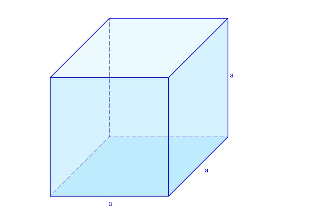 Würfel Volumen, Volumen Würfel, Volumen eines Würfels, Rauminhalt Würfel, Würfelvolumen