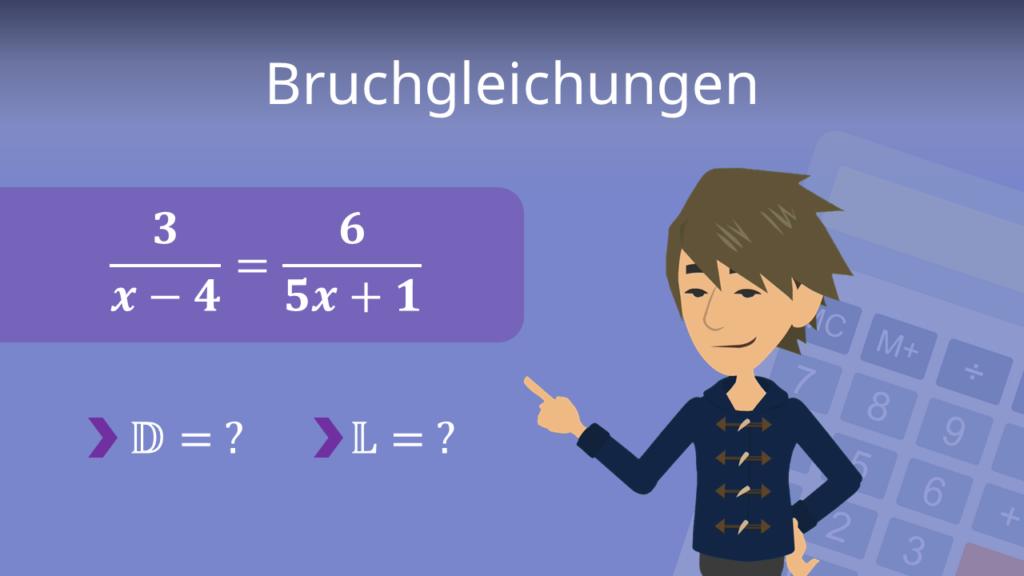 Bruchgleichungen, Bruchungleichungen, Ungleichungen lösen