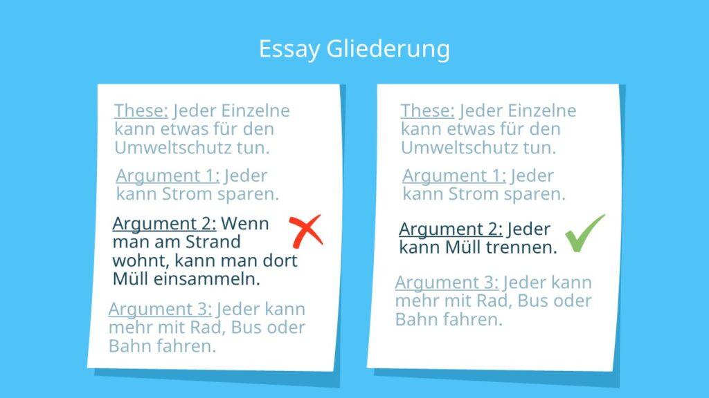 Essay schreiben, Essay, Essay Argumente, Essay Beispiel, Essay Aufbau, Wie schreibt man einen Essay, Aufsatz schreiben