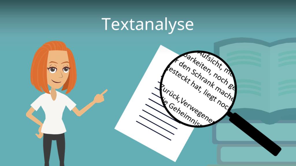 Textanalyse, Textanalyse Aufbau, Textanalyse Tipps