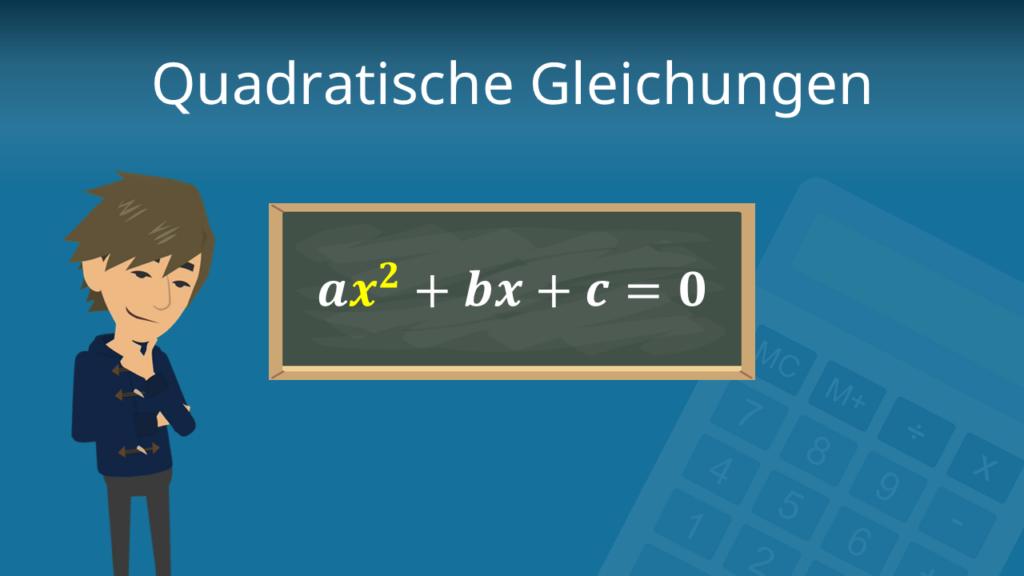 Quadratische Gleichungen, Quadratische Ungleichungen, Ungleichungen lösen