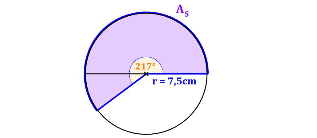 Kreis, Winkel, Bogen, Ausschnitt, Radius
