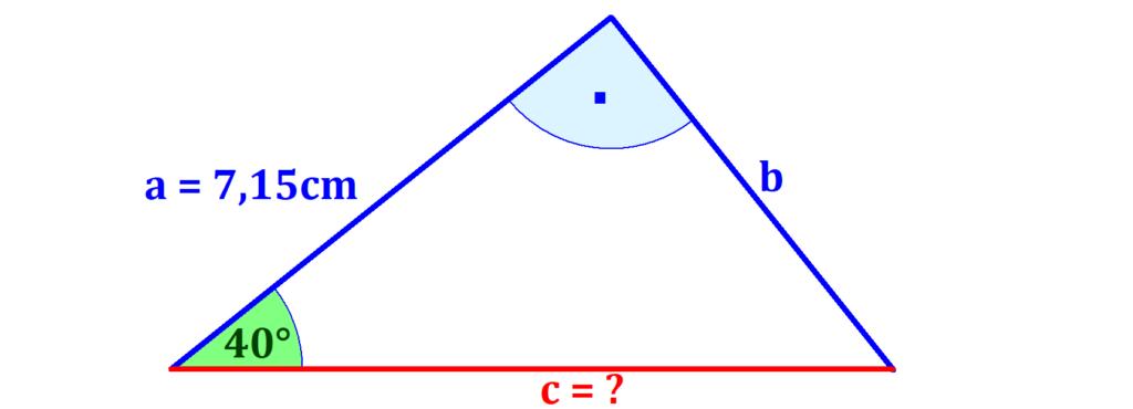 Dreieck, Kosinus, Winkel, Kathete, Ankathete