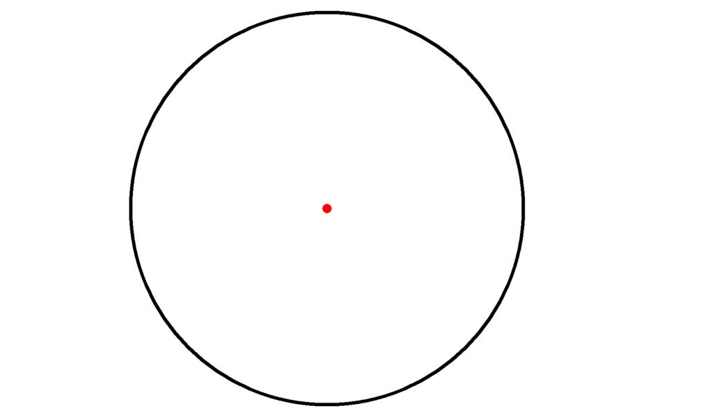 Kreis, Punktsymmetrie