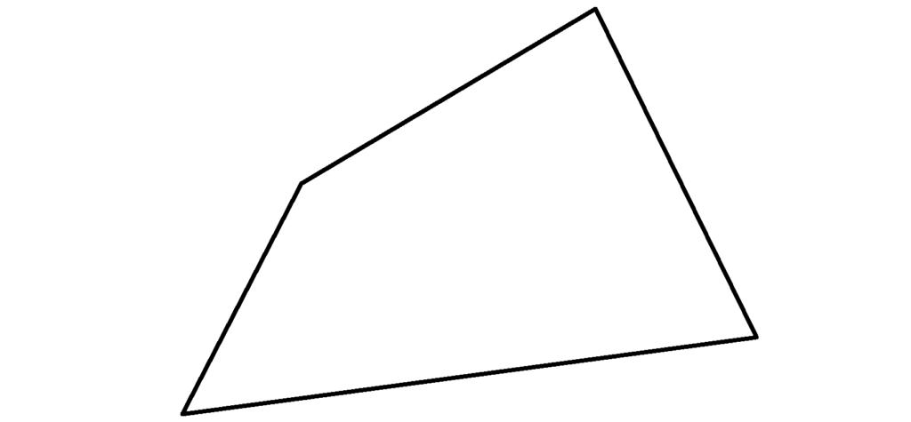 allgemeines Viereck, Viereck, Haus der Vierecke, Winkel, Seite