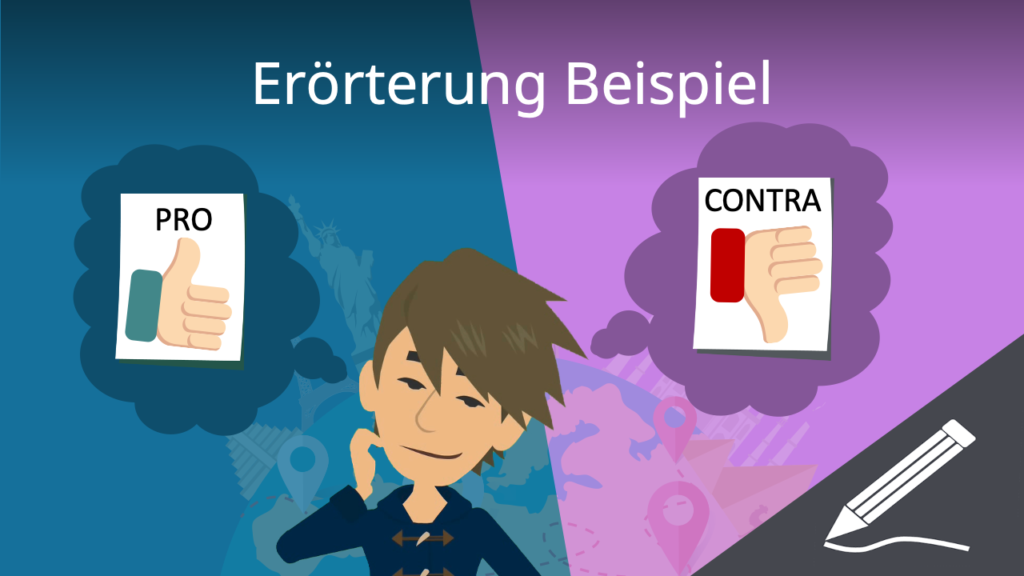 Erörterung Beispiel, Beispiel Erörterung, Erörterung Muster