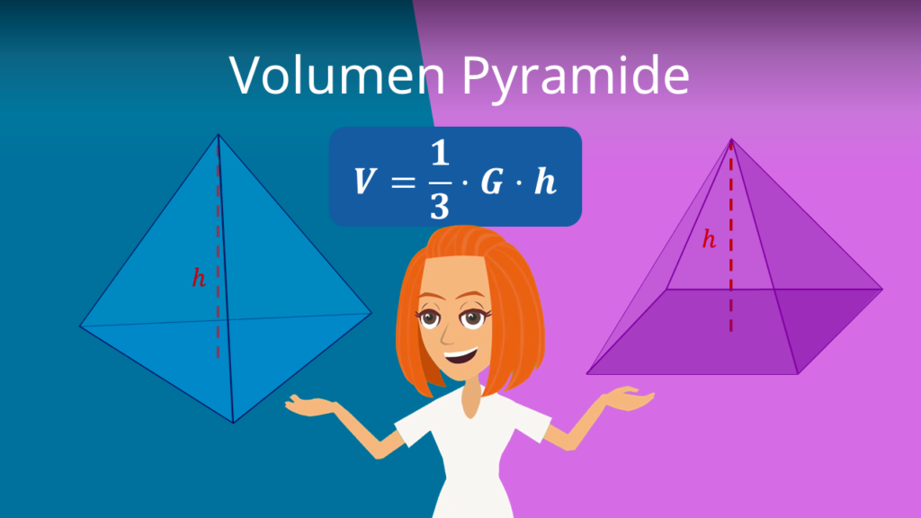 Zum Video: Volumen Pyramide , Oberfläche Pyramide