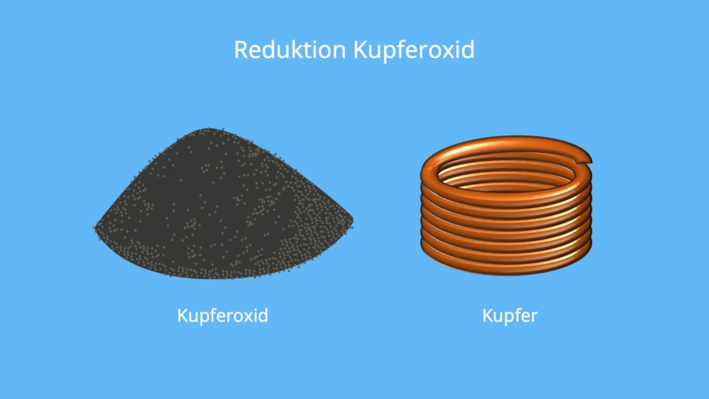 Reduktion Sauerstoff, Reduktion Chemie, Was ist eine Reduktion, Was bedeutet Reduktion, Reduktion Beispiel