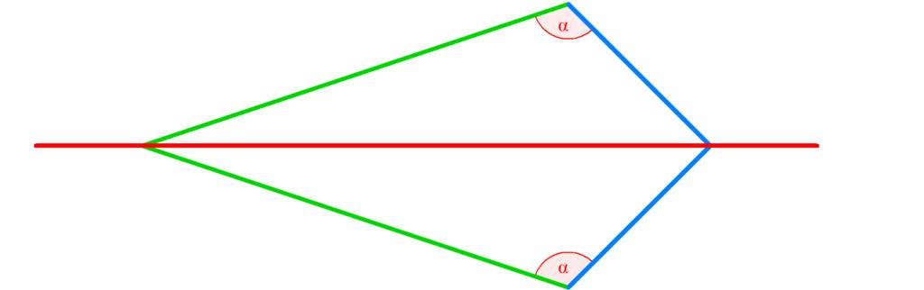 Drachenviereck, Drache, Viereck, Haus der Vierecke, Symmetrieachsen