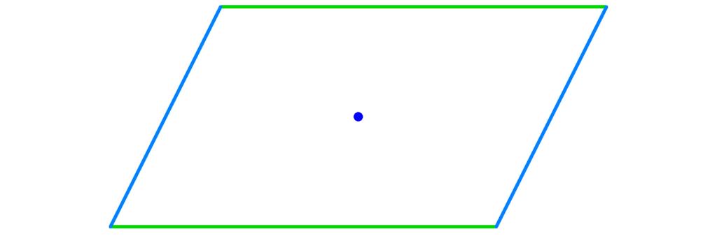 Parallelogramm, Symmetriezentrum, Vierecke, Haus der Vierecke