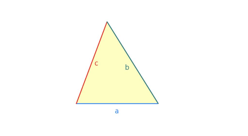 Umfang Dreieck, Formel Dreieck, Dreieck Formel, Dreieck berechnen Formel, Dreiecksberechnung, Dreieck berechnen, U=a+b+c