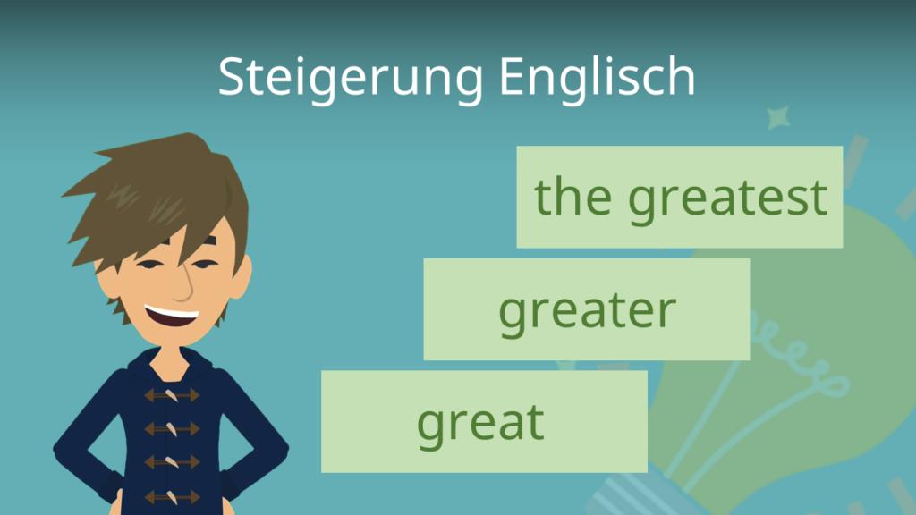 Zum Video: Steigerung Englisch
