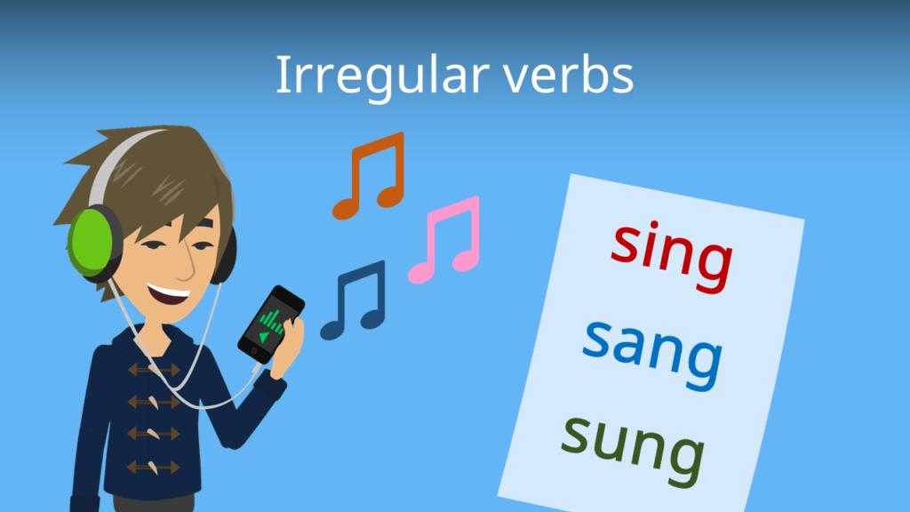 Zum Video: Unregelmäßige Verben Englisch (irregular verbs)