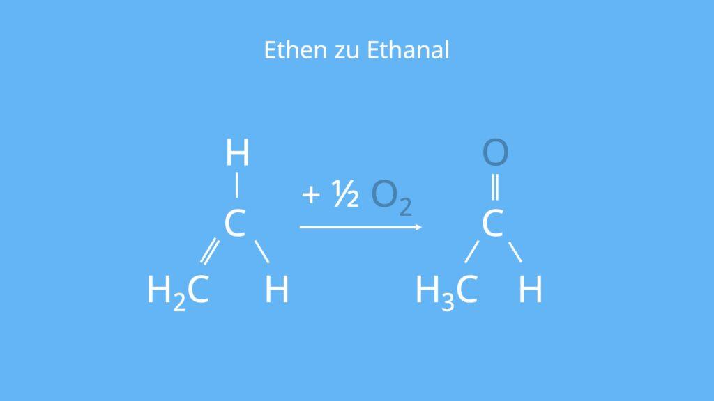 Acetaldehyd, CH3CHO, C2H4O, Aldehyd